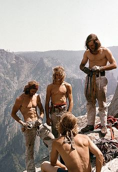 Yosemite climbers from the 70's