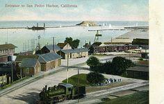 San Pedro, CA - Entrance to San Pedro Harbor