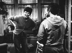 "Elliott:  ""I happen to have a lease in my pocket.  Are you gonna honor it or what?""  Paula:  ""I have a daughter in my bedroom.  That tops the lease in your pocket.""  - Marsha Mason and Richard Dreyfuss in ""The Goodbye Girl"""