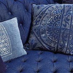 Ralph Lauren Home Indigo Chesterfield Sofa #abcDreamSpace