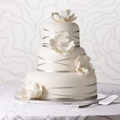 Publix wedding cake: Whimsical Blooms