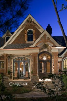 Rustic Luxury Mountain House Plan - The Tranquility | House Plans by Garrell Associates, Inc