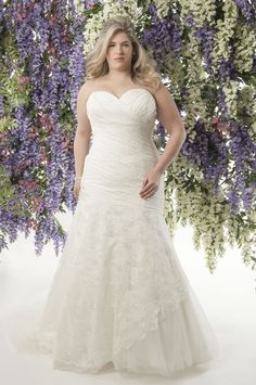 Curvy brides will love this romantic lace collection from Callista! Marrakech