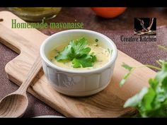 We love food, we cook every day, try recipe, test it and the best what we find and test, we shoot! Every week new delicious and tested recipes! Please leave . Homemade Mayonaise, How To Make Mayonnaise, Love Food, Main Dishes, Cooking, Ethnic Recipes, Creative, Kitchen, Easy