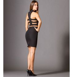 Midi Κρεπ Φούστα με Ζώνη  - Μαύρο Bodycon Dress, Dresses, Fashion, Vestidos, Moda, Body Con, Fashion Styles, The Dress, Fasion