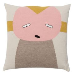 Peppe pillow - rose - Lucky Boy Sunday from the Sisters Guild shop.