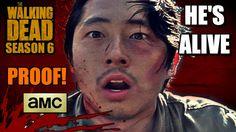The Walking Dead: Season 6 - GLENN IS ALIVE!!! (Theories, PROOF, & Specu...