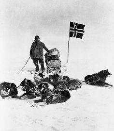 Helmer Hanssen at the South Pole