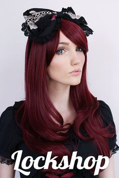 Angelic Auburn Lolita & Gyaru Wig by LockshopWigs on Etsy, €28.50