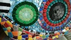 Mosaic guitar                                      While my guitar gently weeps