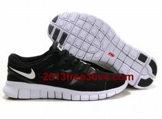 12fa882d4d63 Nike Free Run 2 US Size Black White Anthracite Womens Shoes