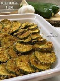 Zucchine croc canti al forno Italian Recipes, Vegan Recipes, Cooking Recipes, Antipasto, I Love Food, Good Food, Finger Foods, I Foods, Food Inspiration