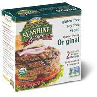 Organic Quarter Pound Original Sunshine Gluten Free Veggie Burger