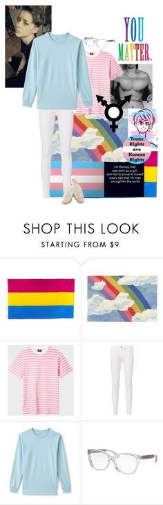 """""""Pride"""" by depressed-boy ❤ liked on Polyvore featuring Trans-Ocean, PS Paul Smith, Frame, Lands' End, Michael Kors, Identity and Rachel Antonoff"""