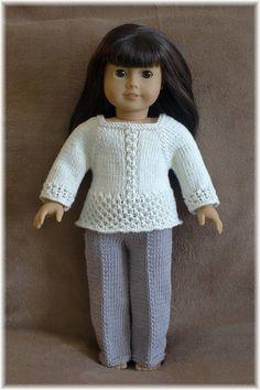 54 Ideas for knitting patterns free girls sweaters doll clothes clothes knitting doll girl doll clothes patterns free knit Knitting Dolls Clothes, Ag Doll Clothes, Knitted Dolls, Doll Clothes Patterns, Crochet Dolls, Doll Patterns, Sewing Patterns, Knitting Designs, Knitting Patterns Free