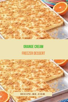 You'll Need: 4 cups of graham cracker crumbs. ¾ cup of sugar. 1 cup of Freezer Desserts, Cold Desserts, No Bake Desserts, Freezer Meals, Pie Recipes, Dessert Recipes, Cooking Recipes, Dessert Ideas, Recipies