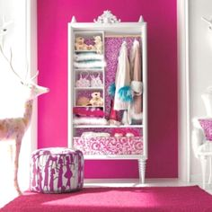 Hot Pink Walls Yay Haha Just Found The Perfect Color For My