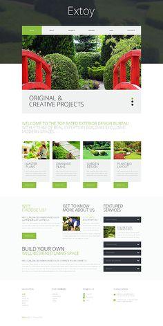 Template 49404 - Landscape Design Responsive WordPress Theme
