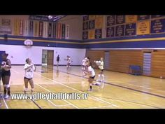 """""""Big M"""" Volleyball Drill - YouTube"""