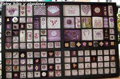 Entre hilos y algodones ...: Cajón de imprenta
