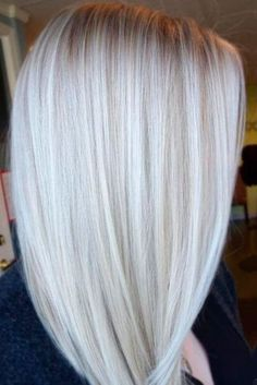 Silk and Shiny Ash Blonde Hair picture 1