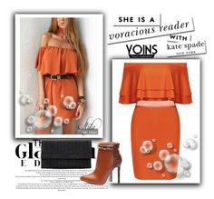 """""""YOINS"""" by sabine-rose ❤ liked on Polyvore featuring Kate Spade, yoins, yoinscollection and loveyoins"""
