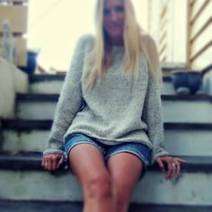 My knitted sweater I