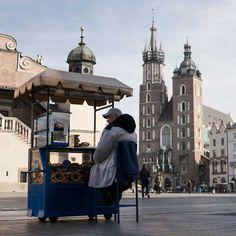 #Krakow bagel seller