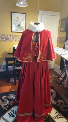 Mrs Claus dress