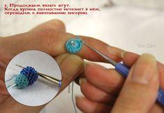 Как быстро, красиво и без отходов оформить начало вязаного жгута из бисера - Ярмарка Мастеров - ручная работа, handmade