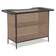 The Riviera bar from Summer Winds is a stylish and durable addition to your patio.