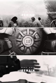 they will perish, but you remain; and they all will become old like a garment - hebrews 1:11 #fallout
