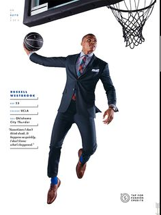 Russell Westbrook representing the OKC region.