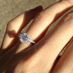 My Verragio engagement ring :)