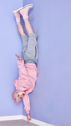 He's laying on the ground right? - GOT7 ~ DarksideAnime