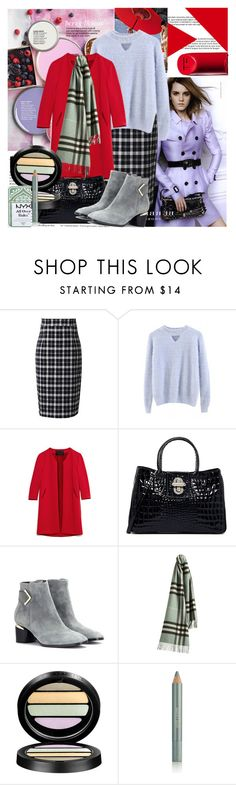 """""""#beautiful halo for you"""" by sweta-gupta ❤ liked on Polyvore featuring Better Homes and Gardens, Burberry, CERVIN, Cushnie Et Ochs, Nicholas Kirkwood, Giorgio Armani, Estée Lauder and NYX"""