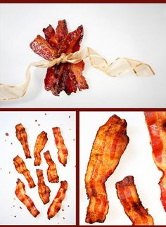 If you want everyone to be talking about your holiday dish, make Candied Bacon. You heard me, CANDIED BACON.
