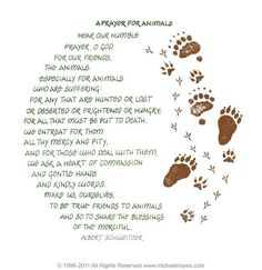 A Prayer for our Animals A Witch Comes Walking added a new photo. - A Witch Comes Walking