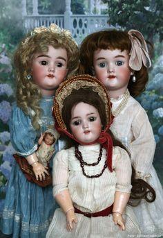Летний сон в зимнюю ночь / Heinrich Handwerck, антикварные куклы / Бэйбики. Куклы фото. Одежда для кукол