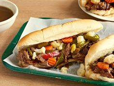 Chicago Italian Beef (Pot Roast Style) Recipe : Jeff Mauro : Food Network - FoodNetwork.com