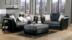 Masoli Cobblestone Sofa Set 14200 by Benchcraft | DFW Furniture
