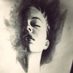 Draw charcoal Antonio Mora, Charcoal, Draw, Portrait, Artwork, Painting, Art Work, Work Of Art, Headshot Photography