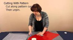 How to Measure & Cut Veil Fabric: Step 1 in How to Make a Veil Series, via YouTube.