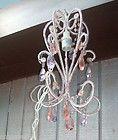 Beaded Chandelier Hanging Lamp Girls Teen Adult