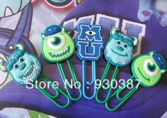 Find More Action & Toy Figures Information about Free shipping 50pcs Monsters, Inc. Monsters University Mike Sullivan Toy figures paperclip bookmarks kids toy,High Quality figure resin,China figure portraits Suppliers, Cheap toy sniper from Rising Star Store on Aliexpress.com