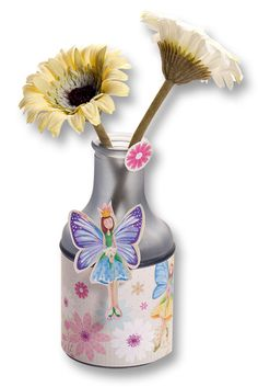 Frühlingsbasteln mit kreativen Produkten und Ideen von folia. Mehr auf www.folia.de