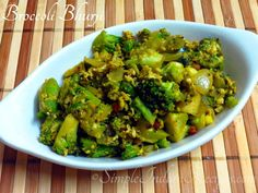 Most Healthy Vegetables, Easy Stir Fry, Vegetarian Side Dishes, Easy Indian Recipes, Broccoli, A Food, Food Processor Recipes, Tasty, Favorite Recipes