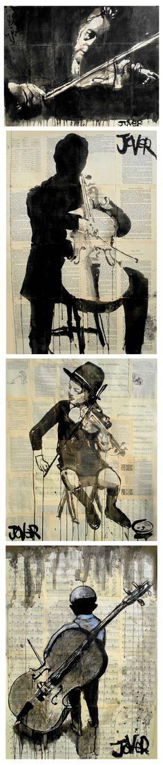 Art by Loui Jover - In Saatchi Online.
