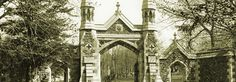 Mount Royal Cemetery is the second-largest cemetery in Montreal. This Protestant cemetery opened in Anna of the King of Siam is buried here. Cemetery, Genealogy, Contemporary Style, Montreal, Barcelona Cathedral, Big Ben, Saints, Places To Visit, Anna