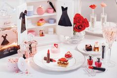 The Langham Hong Kong Afternoon Tea with Guerlain La Petite Robe Noire- May to July 2016